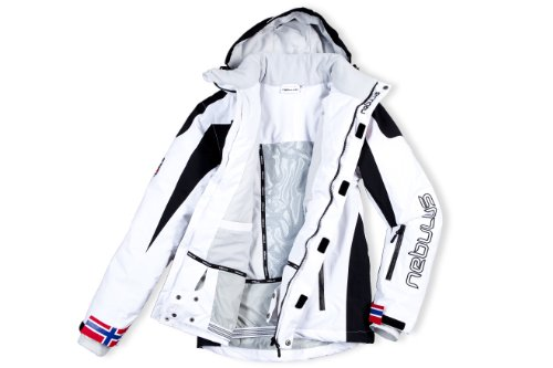 Nebulus Skijacke Freestyle Chaqueta esquí, Hombre, Blanco, XXXXL (UK XXXL): Amazon.es: Deportes y aire libre