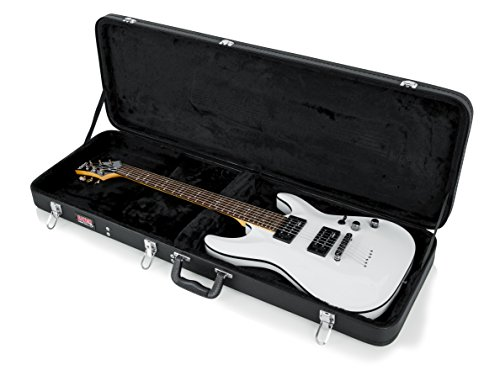 Gator Cases Hard-Shell Wood Case for Standard Electric Guitars; Fits Fender Stratocaster/Telecaster, More (GWE-ELECTRIC) by Gator (Image #12)