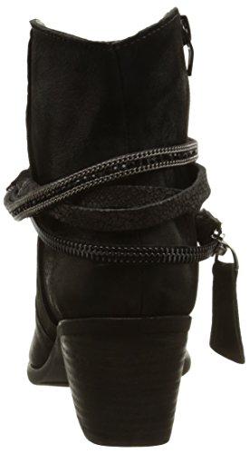 Un Matin d'Eté Rosella - Botas Mujer Negro - Noir (Chevre Oiled Noir)