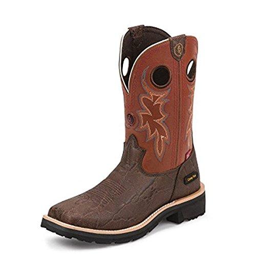 Double H Saddle Boots - Tony Lama Men's Levelland 11