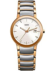 RADO Womens Centrix - R30555103 Two-Tone Silver/Rose Gold One Size