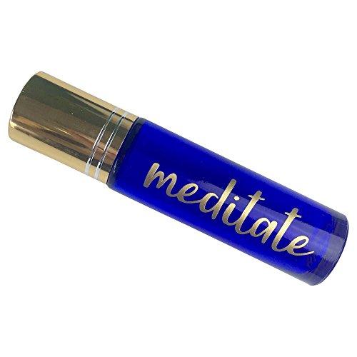 Meditation Blend Essential Oil Roll-on (Blend 2) 10ml Glass Bottle