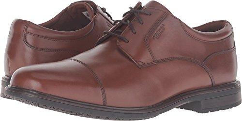 Rockport Men's Essential Details II Waterproof Cap Toe Tan Antique Leather 10.5 M US M (D)