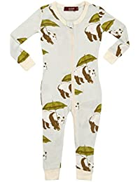fa4e62392b Baby Boys Long Sleeve Stretchie · 8 Prime. Bamboo Zip Pajamas - Blue Panda