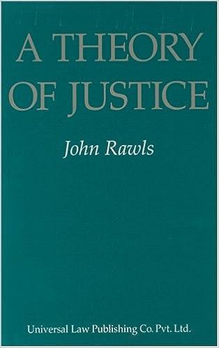 Resultado de imagen para A Theory of Justice