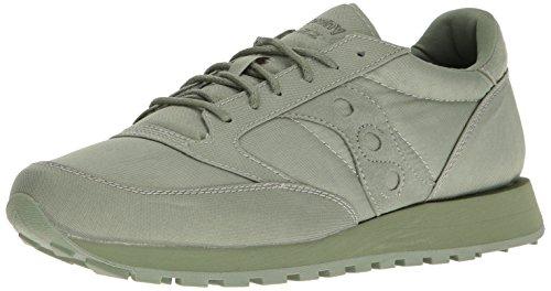 SAUCONY 2 JAZZ S70294 ORIGINAL man Green sneakers low rwgCWr1q