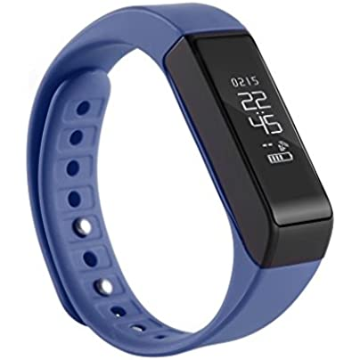 Fitness Tracker OUTAD Smart Bracelet Pedometer Waterproof Heart Rate Monitor Activity Wristband with Replacement Band for iOS amp Android Blue Estimated Price £16.86 -