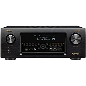 Denon AVRX4400H 9.2 Channel Full 4K Ultra HD Network AV Receiver with HEOS black, Works with Alexa