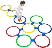 Juegos de Deporte Hua Juguetes De Rayuela con Anillo De Salto De Color, Equipo Deportivo De Entrenamiento Sens