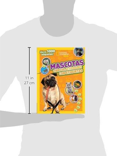 Mascotas: Libro de actividades con etiquetas (National Geographic Kids) (Spanish Edition): Thomas Nelson: 9780718021566: Amazon.com: Books