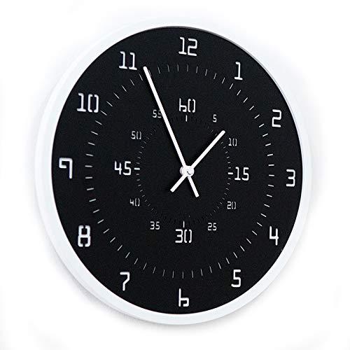 Modern Minimalist Black Stop Wall Clock
