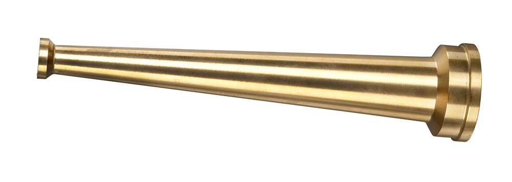 Kuriyama BHN-2410ST Brass Hose Nozzle, 1-1/2'' NST Female, 10'' Length