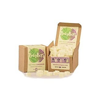 Baby Bits Wipes Solution - Makes 1,000 Natural Wipes - Made in The USA! (2 - Pack)