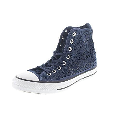 Converse Pizzo All Hi Tessuto Sneakers Chuck 552733c White Navy 35 Taylor Star AYpnOfrxA