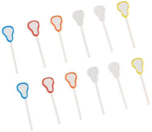 EYELET OUTLET Notions - In Network Shape Brads-Lacrosse Stick, 12-Pack ()