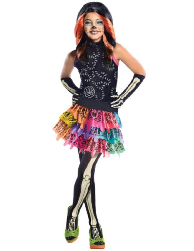 Girl's Monster High Skelita Calaveras Costume -