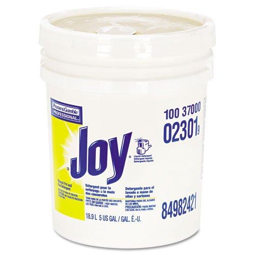 Joy Dishwashing Liquid, Lemon Scent, 5 gal. Pail - one 5 gal. pail of dishwashing liquid.