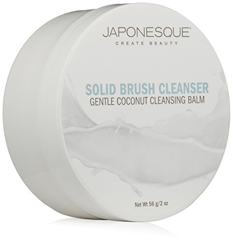 Japonesque Makeup - JAPONESQUE Solid Brush Cleanser, Coconut, 2 oz