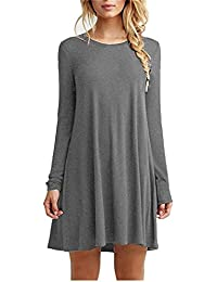 Amazon.com: Grey - Casual / Dresses: Clothing, Shoes & Jewelry