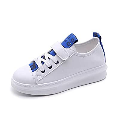 New Velcro Canvas Shoes lace Women's Sports Shoes Fitness Outdoor Sports(Blue-1 38/7.5 B(M) US Women)