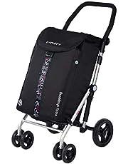 Carlett wózek na zakupy, czarny, 11 litrów
