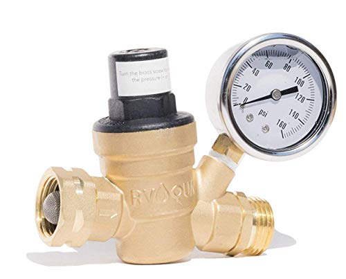 RVAQUA M11-45PSI Water Pressure Regulator for RV Camper