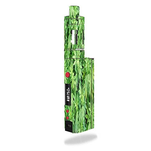 Kanger Topbox Mini Vape E-Cig Mod Box Vinyl DECAL STICKER Skin Wrap / Marijuana Plant (E Cigarette Pot)