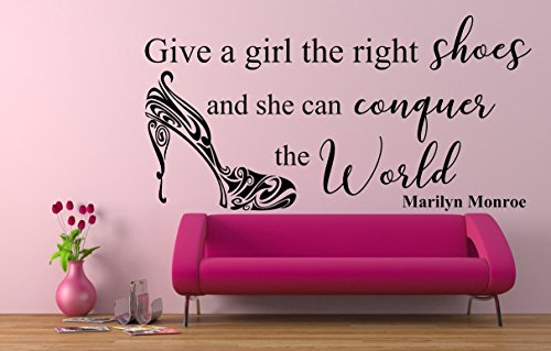 give-a-girl-the-right-shoes-and-she-can-conquer-the-world-quote-marilyn-monroe-vinyl-wall-art-sticke