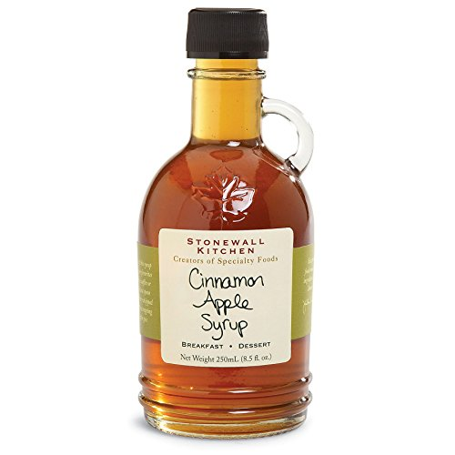 Stonewall Kitchen Gluten-free Apple Cinnamon Syrup, 8.5 Ounces - Stonewall Kitchen Pumpkin