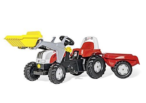 Rolly Toys 023936 - Traktor rollyKid Steyr 6190 CVT, rot