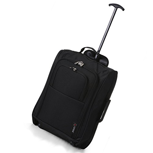 and Cities Main BothHand Luggage On Ryanair 54 Cabin 42 Second 5 Set Carry Approved Black Black L cm SXwgxq11