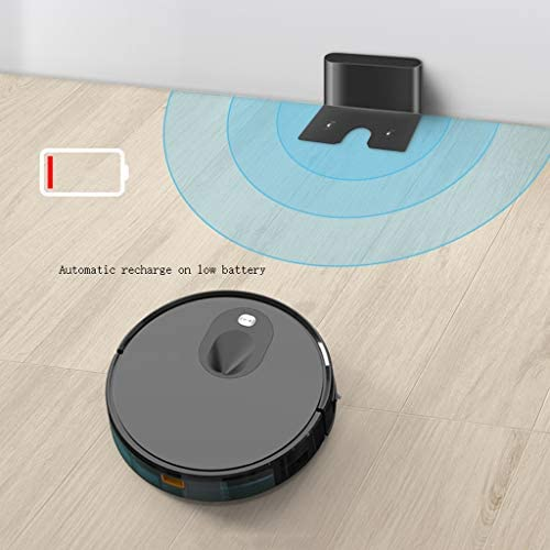 Aspirateur robot Vision Navigation Ménage Aspirateur Intelligent Entièrement Automatique Robot Balayer Balayer Mopping Machine robot de balayage intelligent rechargeable