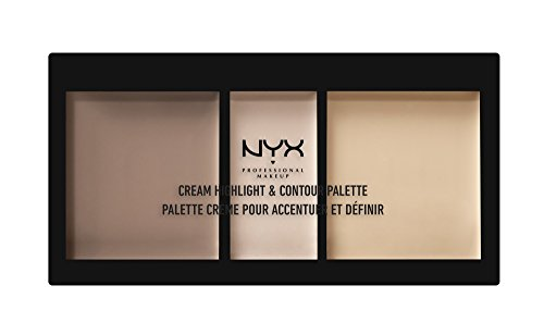 Price comparison product image NYX PROFESSIONAL MAKEUP Cream Highlight & Contour Palette, Light, 0.38 Ounce