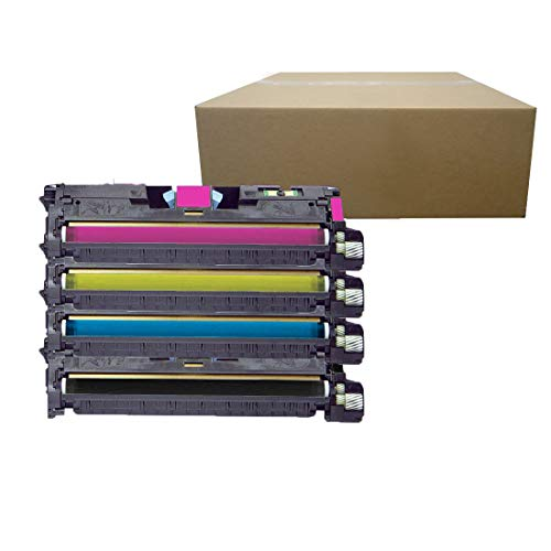 - Inktoneram Compatible Toner Cartridges Replacement for HP 2550 122A Q3960A Q3961A Q3963A Q3962A Color LaserJet 2550 2820 2830 2840 2550 2550L 2550Ln 2550n ([Black,Cyan,Magenta,Yellow], 4-Pack) s