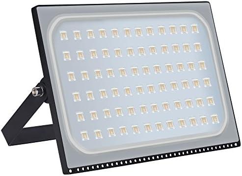 Foco LED para exteriores, de 10 - 500 W, IP67, resistente al agua, foco de 120 grados, lámpara de pared, iluminación exterior para jardín, plaza, patio, fábrica, Luz blanca cálida., 500W: Amazon.es: Iluminación