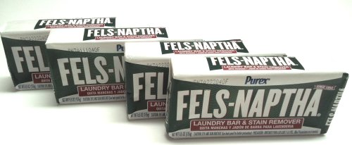 Dial Manufacturing Fels-Naptha Laundry Bar Soap (Pack of 4)