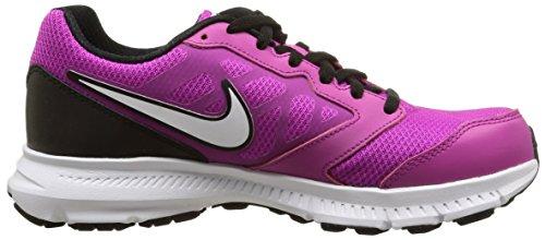 Zapatillas mujer Fucsia 6 Msl Blanco Negro para Nike Downshifter Cx6qz4Ct