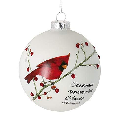 Cardinal Christmas Ornament (burton+BURTON Christmas Ornament Cardinals Appear When Angels are)