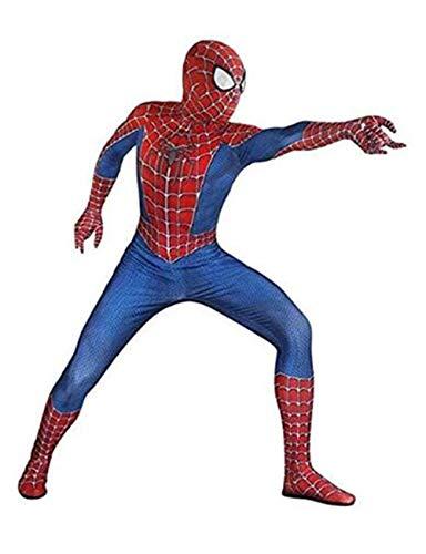Unisex Lycra Spandex Zentai Halloween Cosplay Costumes Audlt/Kids:Homecoming]()