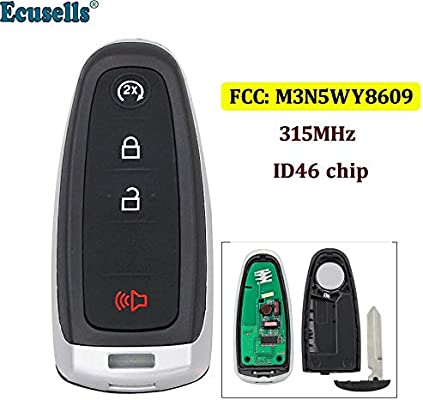 Smart Start  Prox Key Fob Transmitter for Ford Edge C-Max Explorer M3N5WY8609