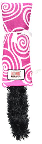 KONG Kickeroo Swirl Pattern - Cat Kickeroo Toy Kong