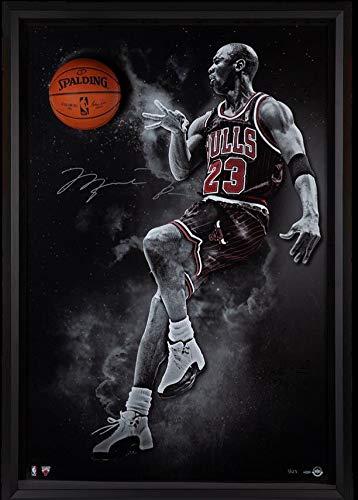 61a76ae1ddf Michael Jordan Hand Signed Autographed NBA Basketball Bulls Break Thru UDA 2 /123