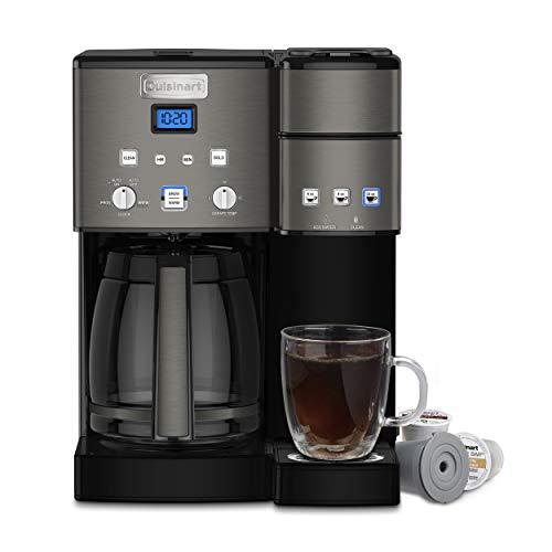 Cuisinart Coffee Center Maker, SS-15BKS, Black (Renewed)