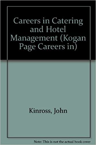 Amazon com: Careers in Catering and Hotel Management (Kogan