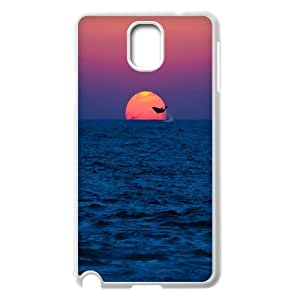 Unique Phone Case Design 11Dolphins Art Pattern- For Samsung Galaxy NOTE3 Case Cover