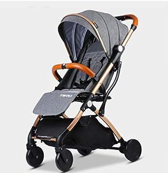 Amazon.com : Mini cochecito de bebé portátil cochecito ...