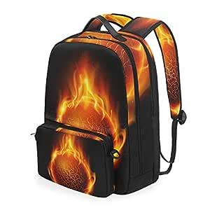The Burning Fire - Mochila de Baloncesto Desmontable para ...