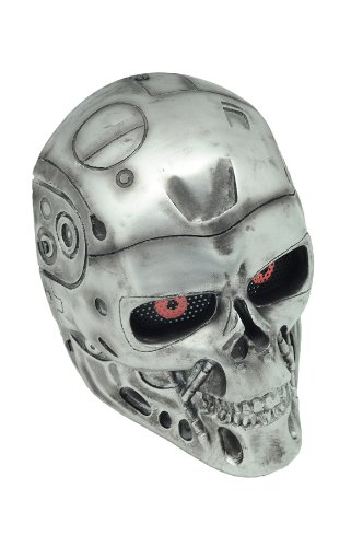 FMA New Wire Mesh Silver T800 Terminator Full Face Protection Paintball Mask L553