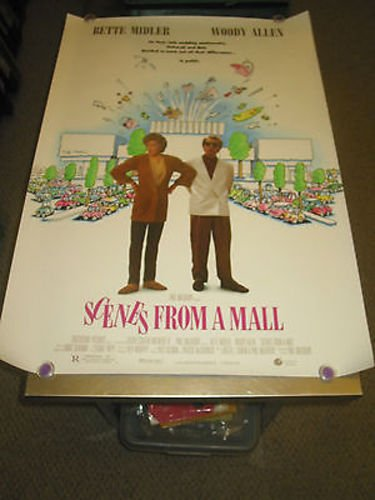 SCENES FROM A MALL/ORIG U.S ONE SHEET MOVIE - Stores Allen Mall