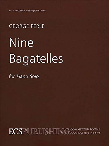 Nine Bagatelles Piano